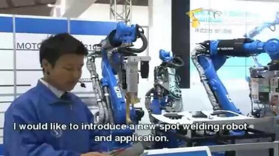 金属加工行业_点焊_安川机器人 3