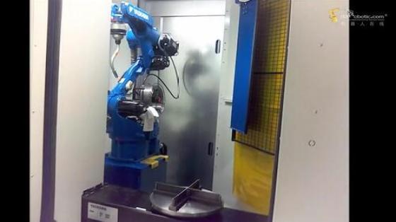 金属加工行业_点焊_安川机器人 2