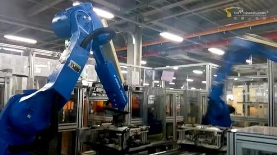 机床管理行业_机床上下料_安川机器人 2