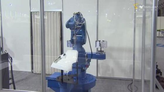 金属加工行业_喷涂_安川机器人