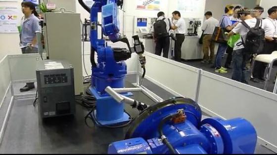 金属加工行业_弧焊_安川机器人 7