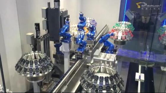塑料/橡胶行业_装配/组装_安川机器人 6