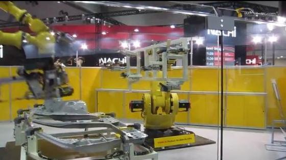 汽车工业行业_点焊_发那科机器人 2