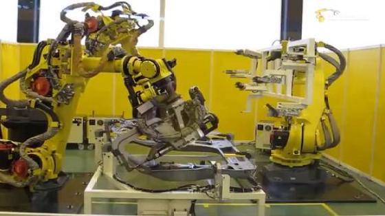 汽车工业行业_点焊_发那科机器人 1