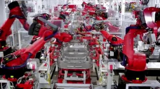 汽車工業行業_總裝/智能裝配_庫卡kuka機器人