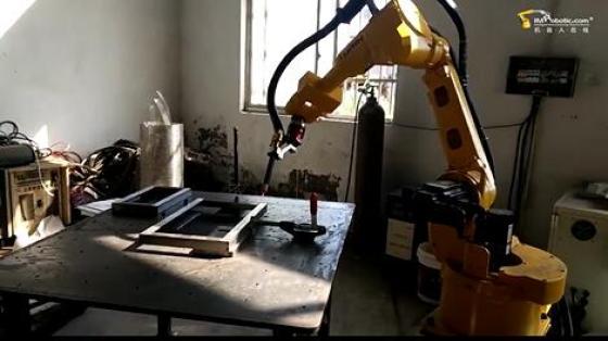 五金行业_框架自熔氩弧焊_图灵焊接机器人