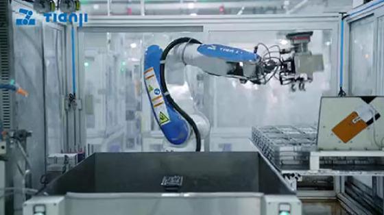金属加工行业_打磨_天机机器人