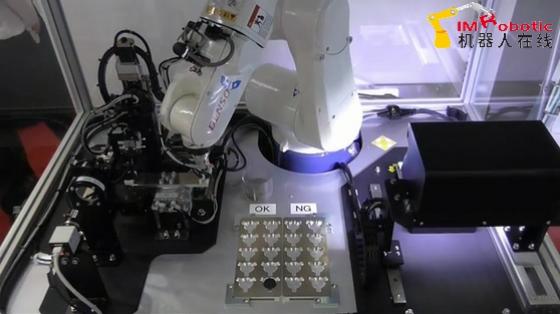 3C&家電行業_3D揀選+外觀檢查_電裝機器人