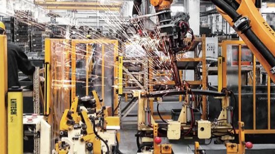 焊接应用案例合集_埃斯顿机器人