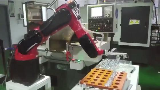 机床管理/金属加工行业_CNC_欢颜机器人