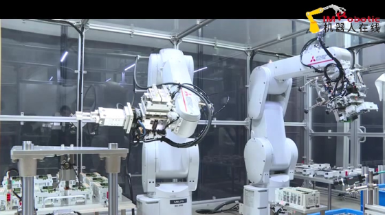 3C&家电_装配_三菱电机工业机器人