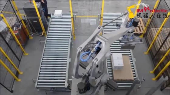 机床管理_物料搬运_柯马机器人