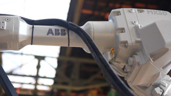 3C&家电行业_3D打印焊接_ABB机器人