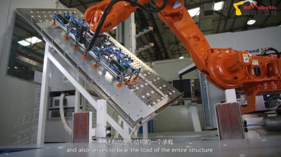 金属加工行业_钣金折弯_ABB机器人