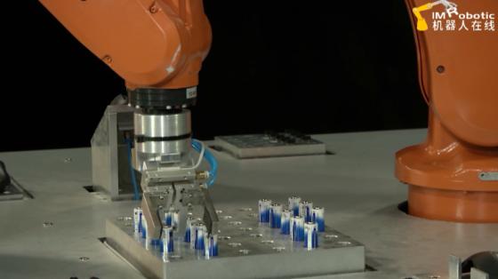 3C&家电行业_雷柏科技鼠标装配_ABB机器人
