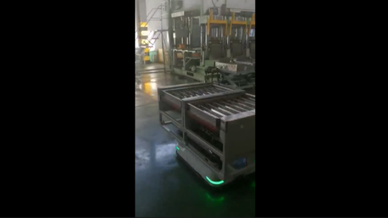 汽车工业_刹车片生产应用_斯坦德移动机器人