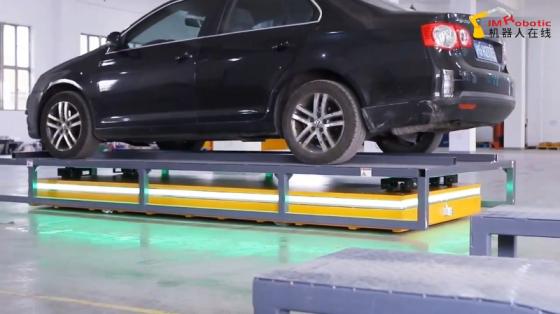 物流交通_汽車搬運_匯聚機器人