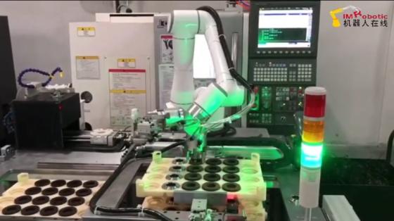 机床管理_机床上下料_艾利特机器人