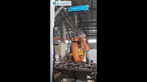 金屬加工行業_分揀/上下料_埃爾森機器人 2