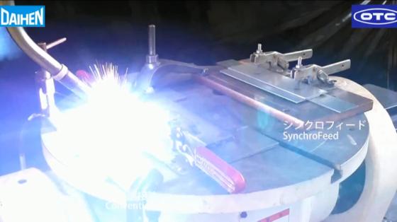 金屬加工行業_點焊/弧焊_歐地希OTC Synchro Feed焊接系統 13