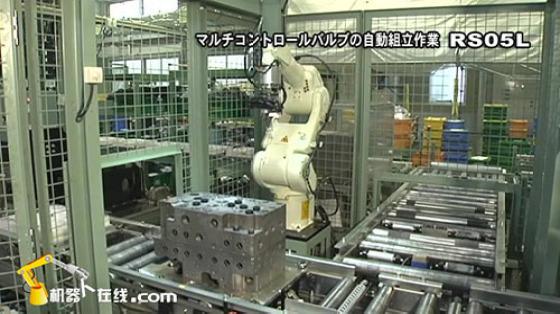 金属加工行业_装配/组装_川崎机器人