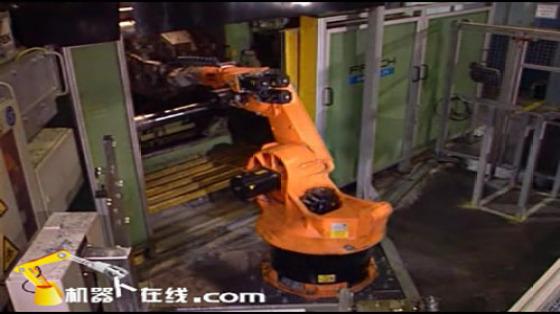 鑄造工業行業_壓鑄/取件/切邊/R239_庫卡kuka機器人
