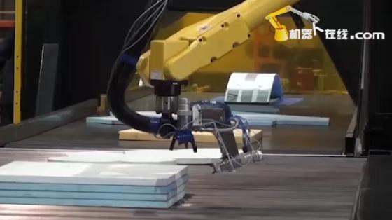 木材/家具行业_喷涂_发那科机器人 1