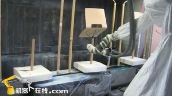 木材/家具行业_椅子喷涂_发那科机器人