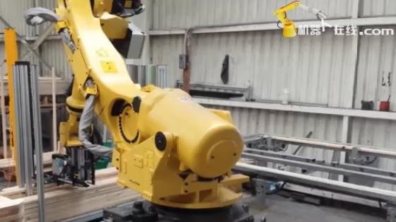 木材/家具行业_装配/打钉拆解_发那科机器人 1