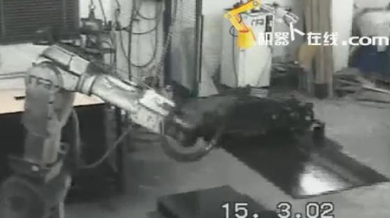 木材/家具行业_喷涂_川崎机器人
