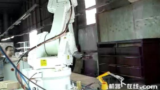 木材/家具行业_家具喷涂_川崎机器人