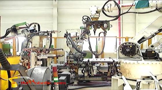 汽车工业行业_白车身/点焊_川崎机器人 1