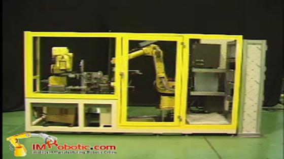 Fanuc丨发那科机器人丨塑料加工丨物料搬运丨搬运丨一