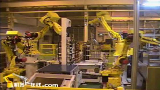 Fanuc丨发那科机器人丨塑料加工丨物料搬运丨搬运电路板