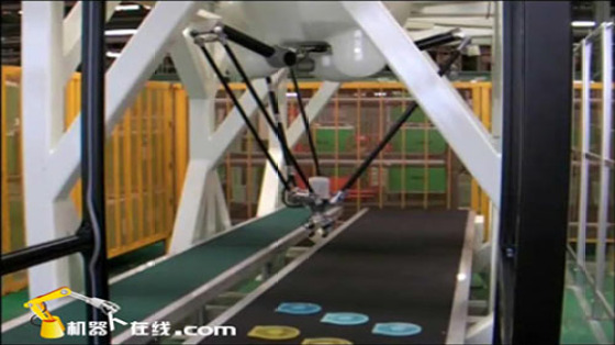 Kawasaki Robot 川崎机器人 塑胶加工 物料搬运 搬运 deltaYF03N