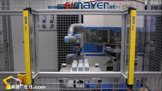 塑料/橡胶行业_物料搬运_优傲UR机器人