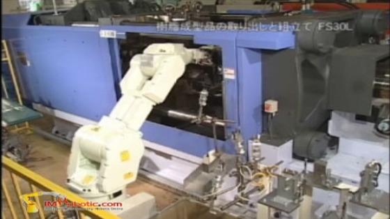 Kawasaki Robot 川崎机器人 塑料加工 注塑 取件 FS30L