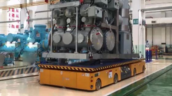 【汇聚】OMV重载部件法兰精密对接项目