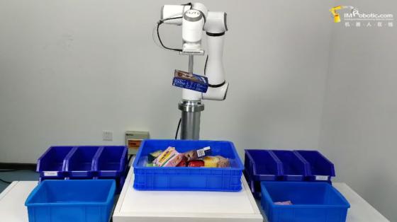 消費品行業_分揀_艾利特機器人