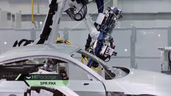 汽车工业_点焊/涂胶/喷涂_现代机器人