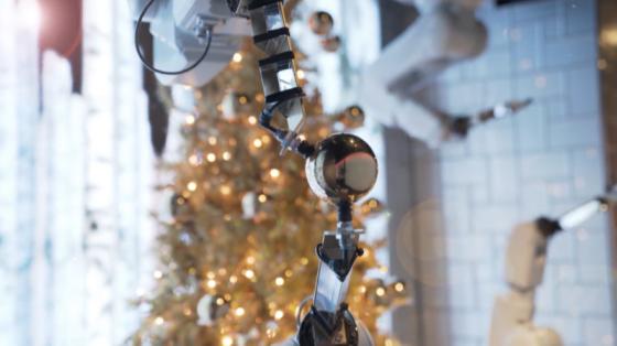 當圣誕鐘聲響起,ABB機器人帶給你無限驚喜