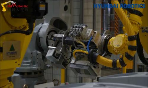 现代机器人大邱工厂介绍