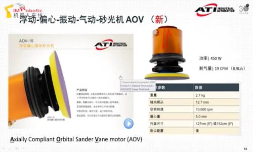 【直播回顧】ATI機器人打磨恒力浮動工具及案例分享(中)