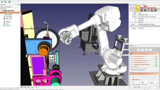 離線編程示教-快速實現不同品種切換打磨