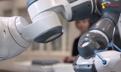 ABB机器人 YuMi 5周年精彩回顾