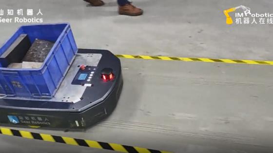 AMB机器人试车展示 5_仙知