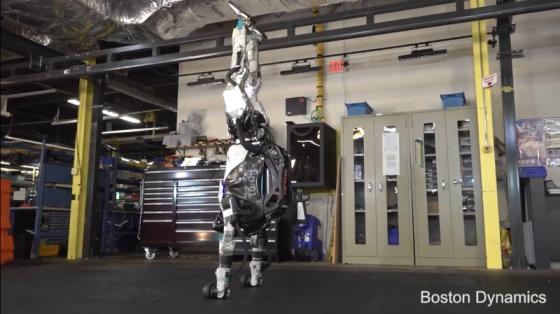 """波士顿动力系列:Atlas机器人成""""体操王子"""""""