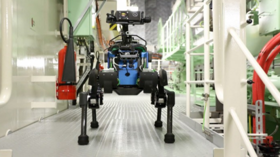 世界上第一個自動離岸的機器人:四足機器人ANYmal