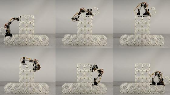 小型組裝機器人BILL-E現在可以建橋造飛機