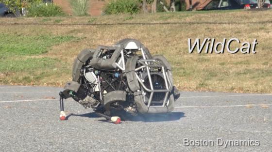 波士頓動力系列:四足機器人WildCat